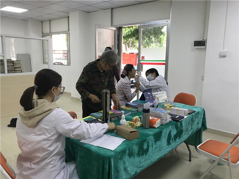 社区口腔健康科普宣教活动走进碧霞社区