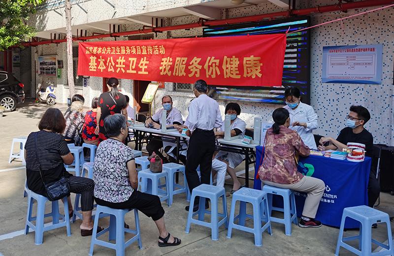 社区口腔科普宣教走进小公园街道荣隆社区党群服务中心
