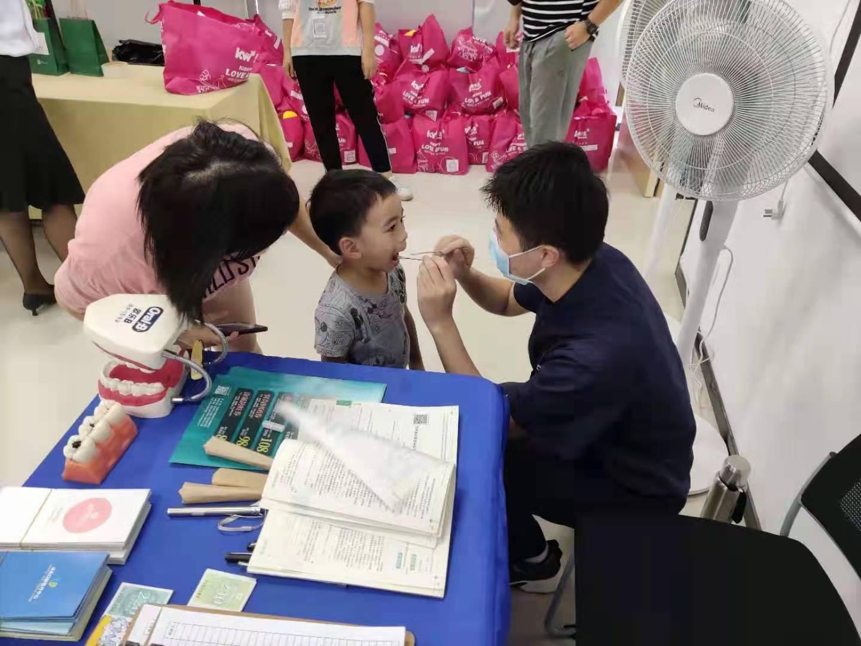 汕头口腔医疗中心携手孩子王,为儿童口腔健康护航